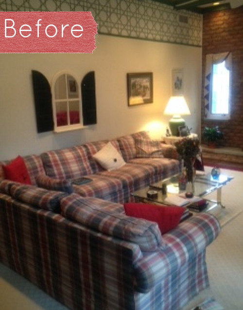 Green Plaid Sofa I Love That 60s Green Plaid Couch It Was