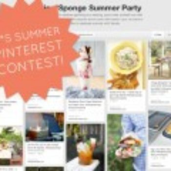 Pinterest Contest: Design Your Ideal Summer Party