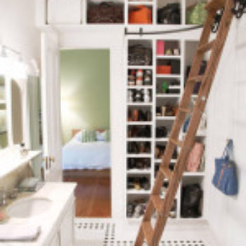 15 Ways to Use a Ladder at Home