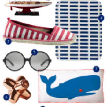 Caught in our net: 10 Fab-ulous Products For Seafaring Summer Style!