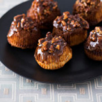 Yvonne Ruperti's Upside-Down Pecan Sticky Muffins