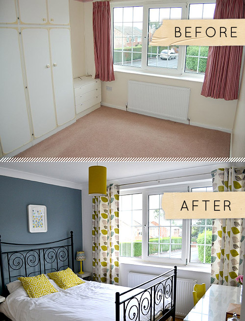 Before & After: A Yorkshire Bedroom Goes from Beige to ...