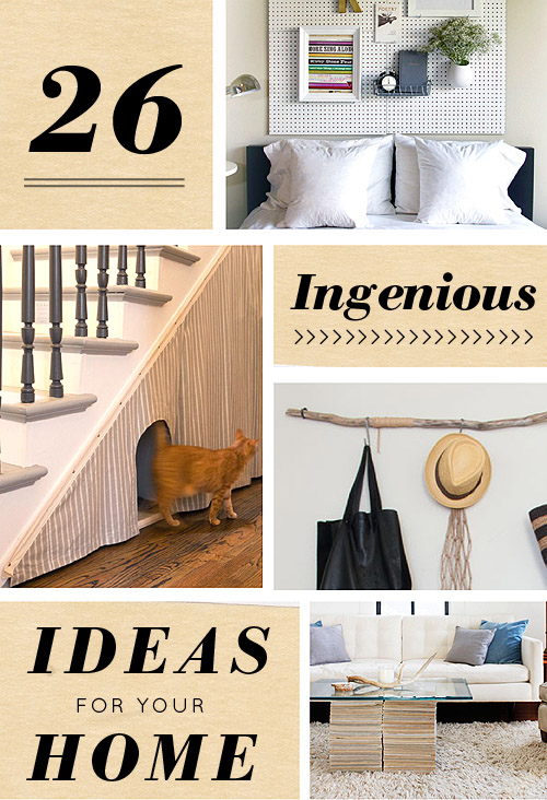 26 Ingenious Ideas For Your Home – Design*Sponge