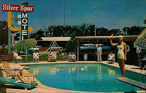 the motel postcard a window to the 1950 s road trip