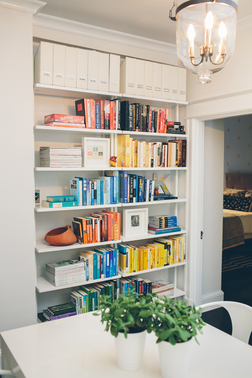 Image Above Color Arranged Books In The Dining Room See All Photos Of This Home Washington Dc Here