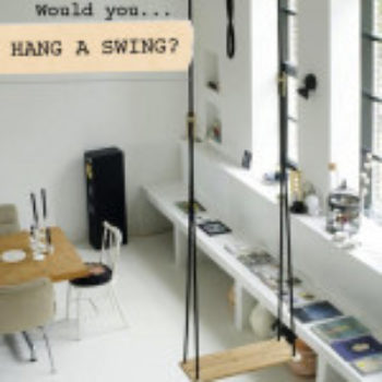 Would You…Hang a Swing in Your Home?