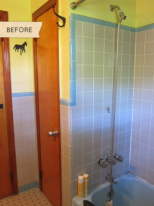Before & After: A Mismatched 1950s Bathroom Gets ...