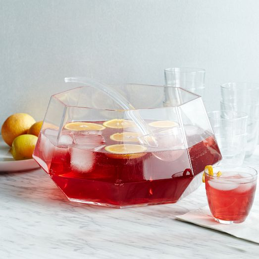 Gem Punch Bowl + 10 Great Cocktail Recipes