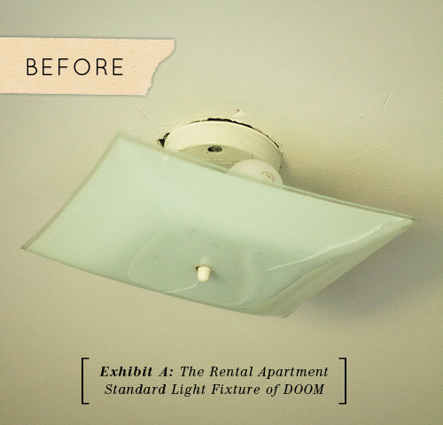 ideas for ceiling light covers - diy light fixture covers Quotes