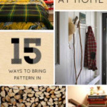 Plaid At Home: 15 Ways to Bring The Pattern Inside