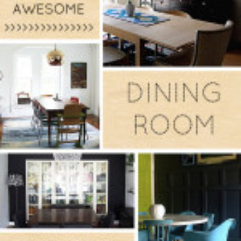 10 Awesome Dining Room Transformations