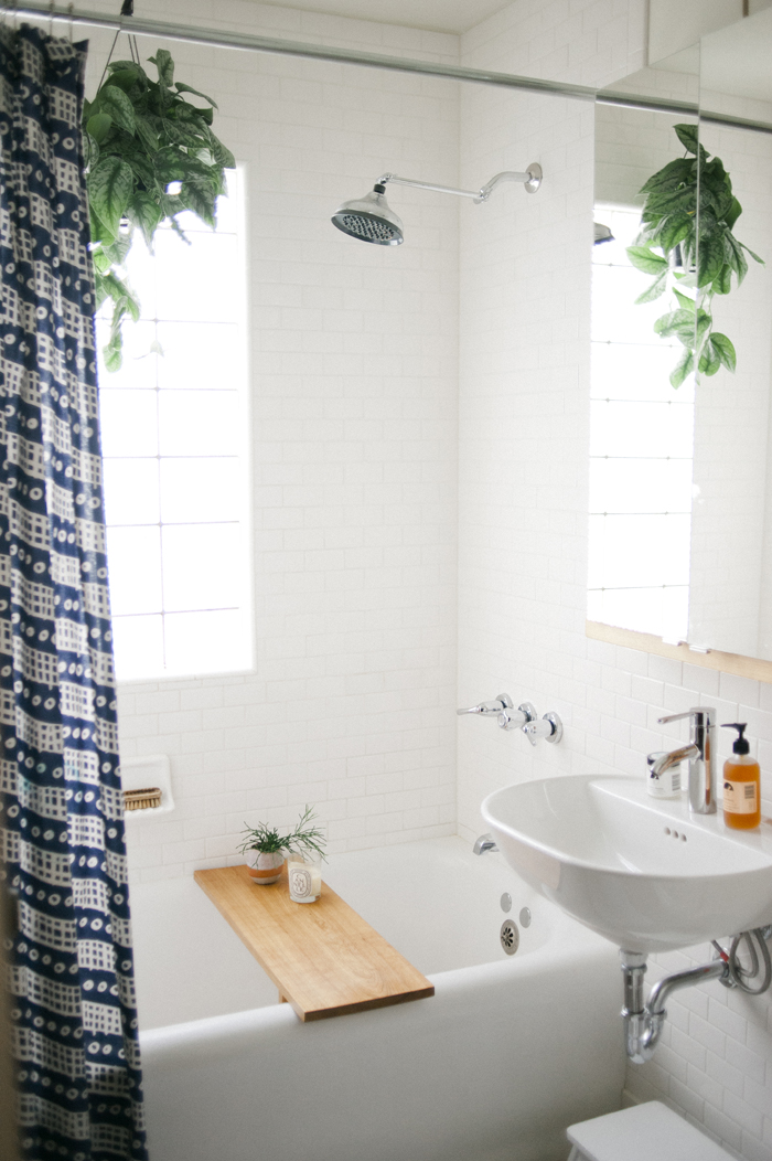 North of south and east of west an oasis of warmth and style in minneapolis design sponge - Design sponge bathrooms ...