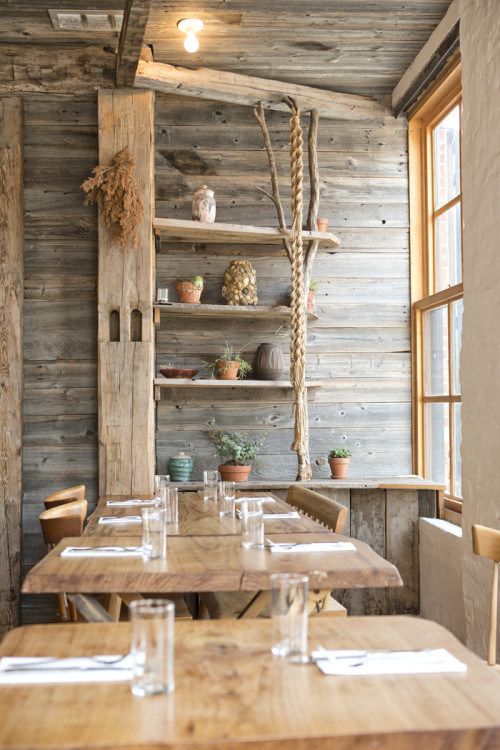 A Modern Rustic Restaurant in Brooklyn – Design Sponge