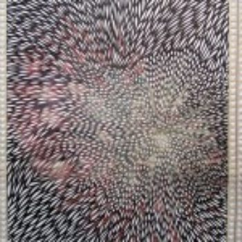 Cut Lace Newspapers by Myriam Dion