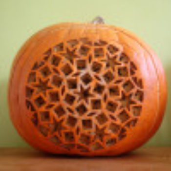 The D*S Pumpkin Project: Dan Funderburgh's Magical Lasercut Jack-o-Lantern