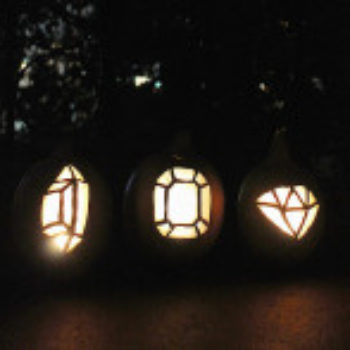 The D*S Pumpkin Project: Gem-O-Lanterns by Molly Madfis