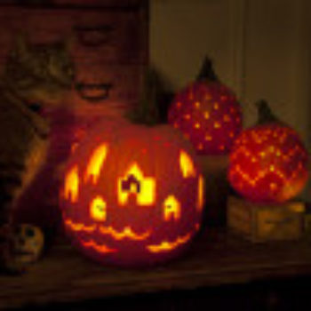 The D*S Pumpkin Project: Jessica Marquez's Danish-Inspired Jack-O-Lanterns