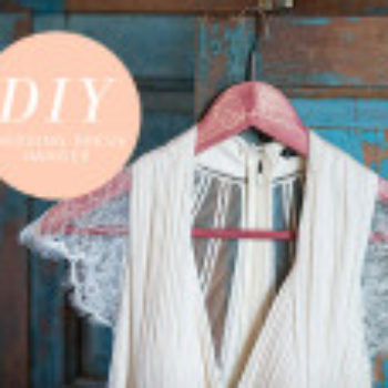 Wedding DIY: Dress Hanger
