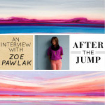 After the Jump: Interview with Painter Zoe Pawlak (MP3)