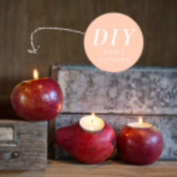 Wedding DIY: Fruit Votives + Awesome Tool
