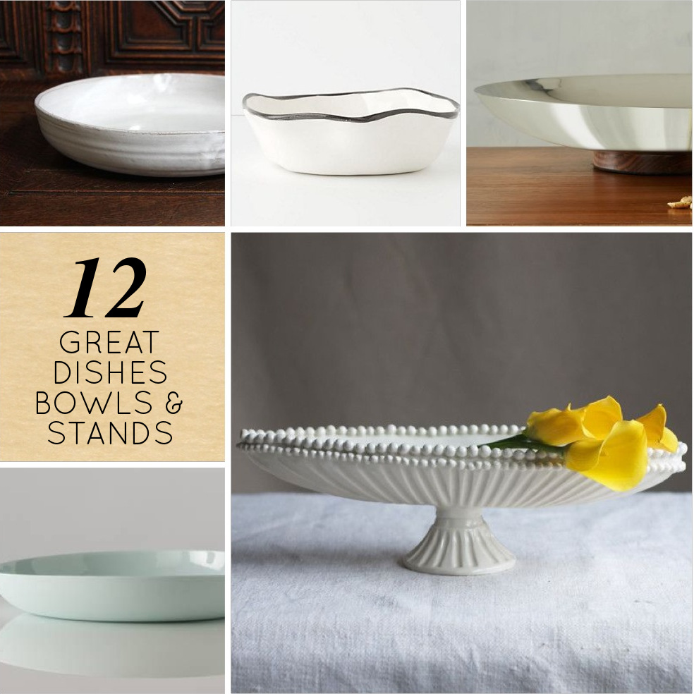 12 Beautiful Serving Dishes Bowls And