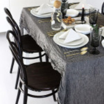 Thanksgiving Tables: Matt Armendariz & Jennifer Hagler