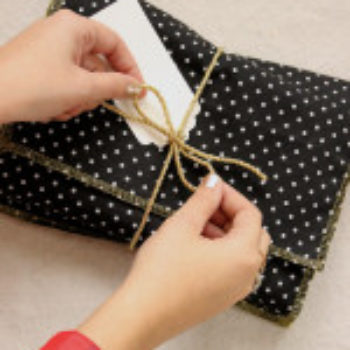 DIY Project: Fabric Gift Envelopes