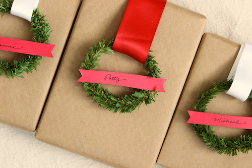 Mini Wreath Gift Tags 1
