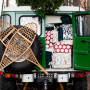 Truck with Packages & Snowshoes