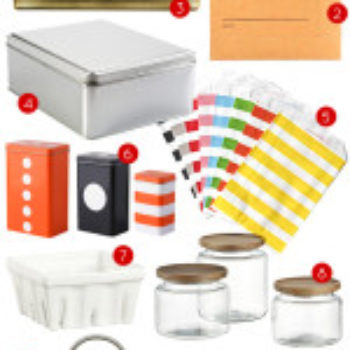 Gift Guide 2013: Packages, Boxes, and Tins for DIY Gifts