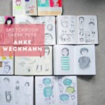 Sketchbook Sneak Peek: Anke Weckmann