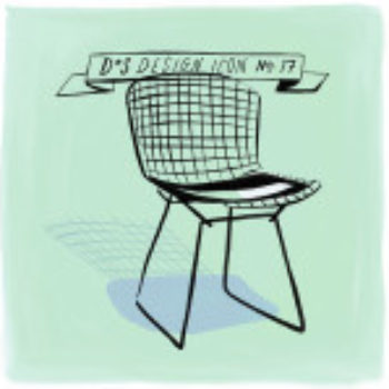 Design Icon: Bertoia Side Chair