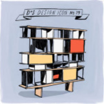 Design Icon: Charlotte Perriand Bookshelf