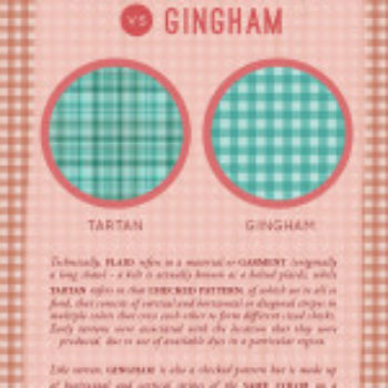 D*S Pattern Book: Tartan Vs Gingham