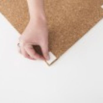 DIY Project: Campaign Style Cork Board