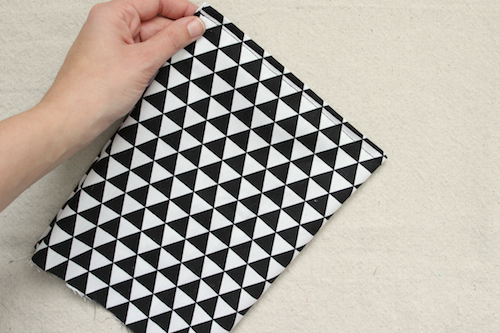 Fabric Pyramid Bookends - Step 3b