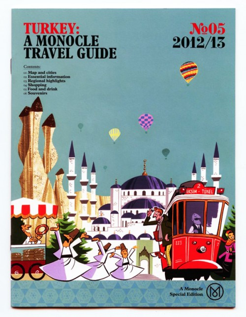 10 illustrated travel guides design sponge rh designsponge com Travel Brochure AAA Travel Guide