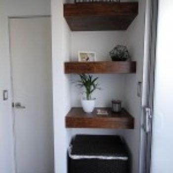 Before & After: A Humdrum Bathroom Gets A Modern Makeover