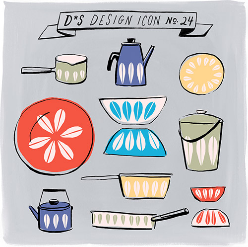 Design*Sponge | Design Icon:  Cathrineholm Lotus Enamelware