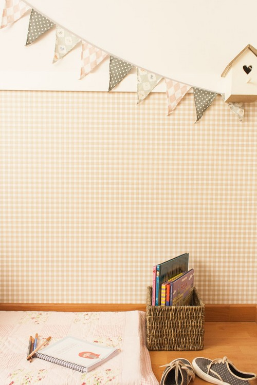 Design Sponge/ Flags by Nobodinoz and birdhouse by Coté Sud.
