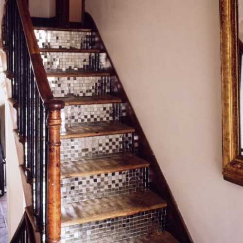 Bon Creative Stair Covering Ideas New House Designs