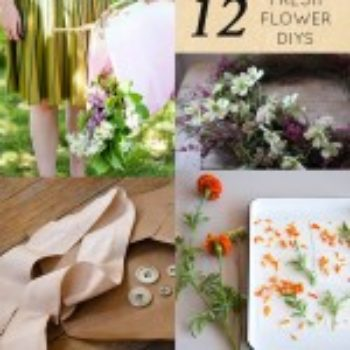 12 Flower-Themed DIY Projects for Spring