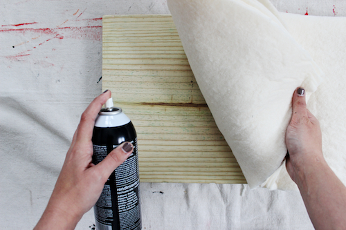 DIY Brushstroke Bench 10
