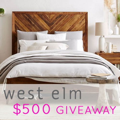 9faa9fac83d This month s DS BIG 10 Giveaway is coming courtesy of a brand that has been  a big part of Design Sponge s history  west elm.