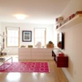 Before & After: A Studio Apartment Is Brought To Life With Color