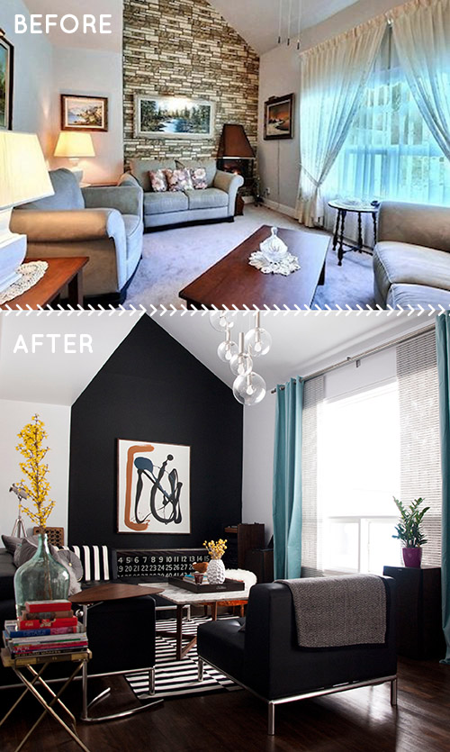 Before After A 1950s House Gets A Faithful But Modern Update Design Sponge