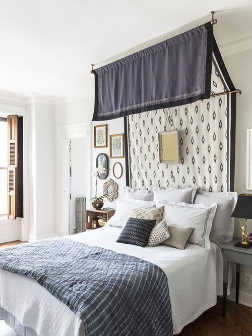 DIY Canopy Bed by Megan Pflug of One Kings Lane for Design*Sponge | Photos by Lelsley Unruh