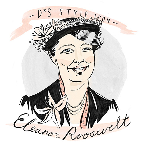 Design*Sponge | Style Icon: Eleanor Roosevelt