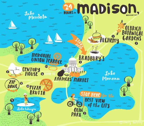 24 Hours In Madison With Emily Balsley Design Sponge