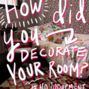 What was your childhood bedroom like? #NoJudgement